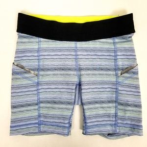 Lululemon What The Sport Space Dye Stretch Shorts